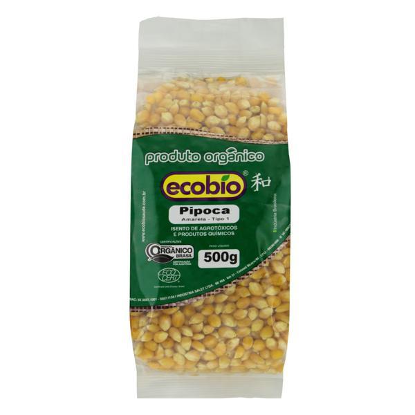 Milho para Pipoca Tipo 1 Orgânico Ecobio Pacote 500g