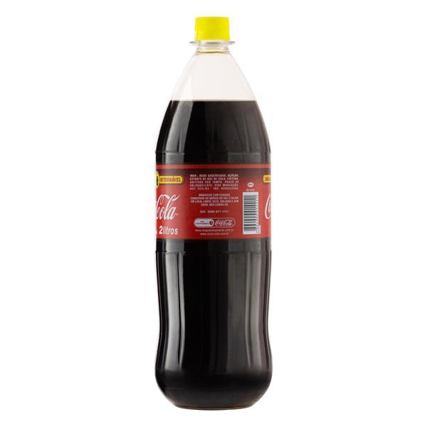 Refrigerante Coca-Cola Garrafa Retornável 2l - **Precisa ter o vasilhame**