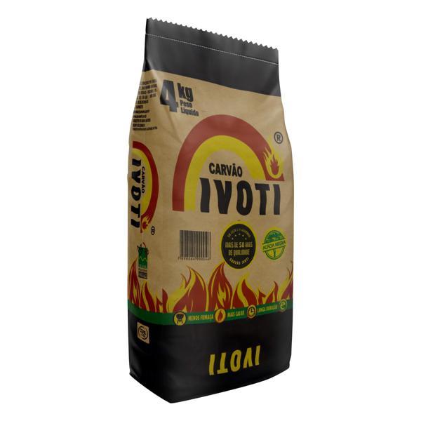 Carvão de Acácia Negra Ivoti Pacote 4kg