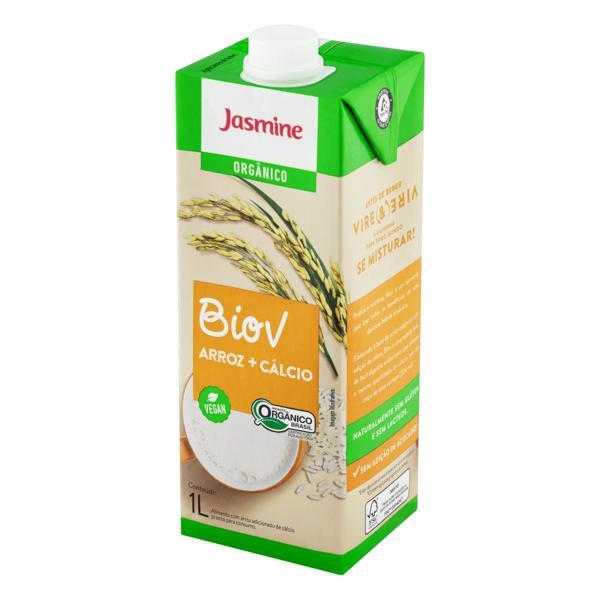 Bebida à Base de Arroz com Cálcio Orgânica Jasmine Biov Caixa 1l