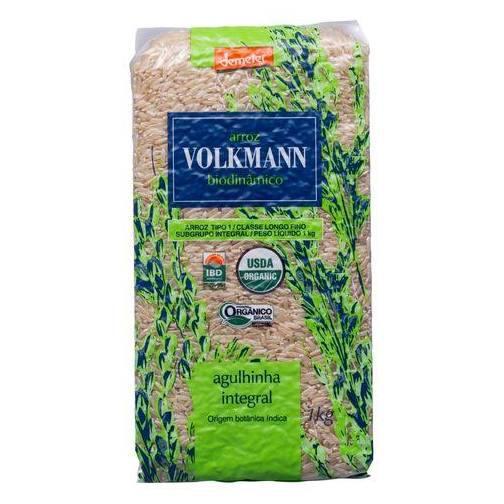 Arroz Orgânico Agulhinha Integral Volkmann 1 kg