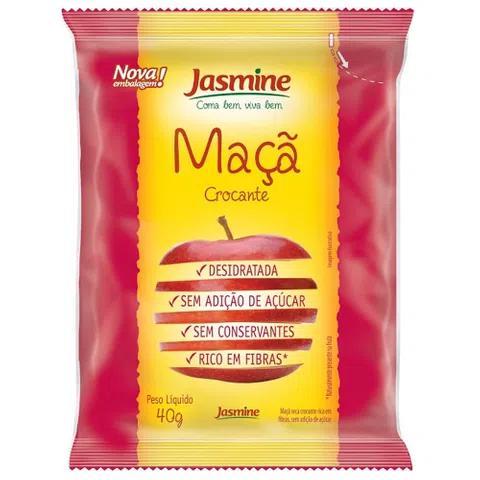 Maça Seca Crocante Jasmine 40g