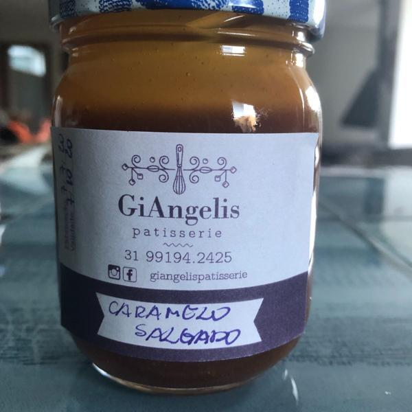 Pote de Caramelo com Flor de Sal 100g - GiAngelis Patisserie