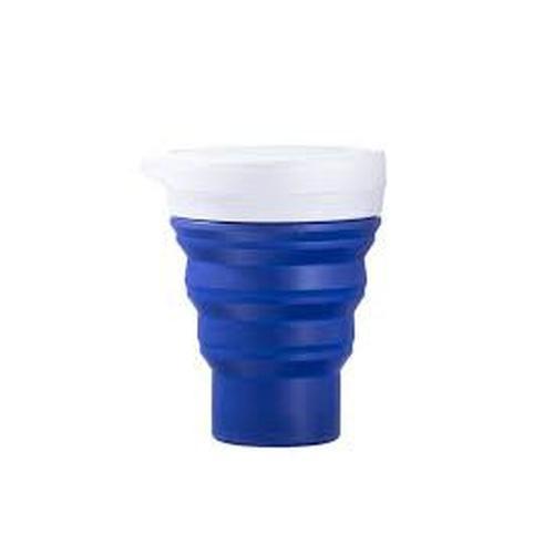 Copo azul escuro - Menos 1 Lixo