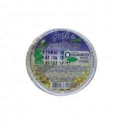 Patê de soja sabor berinjela e alho (110g)