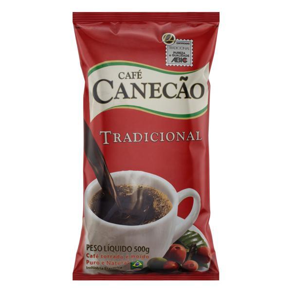 Café Torrado e Moído Tradicional Café Canecão Pacote 500g