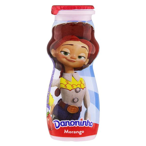 Iogurte Integral Morango Toy Story 4 Danoninho Frasco 100g