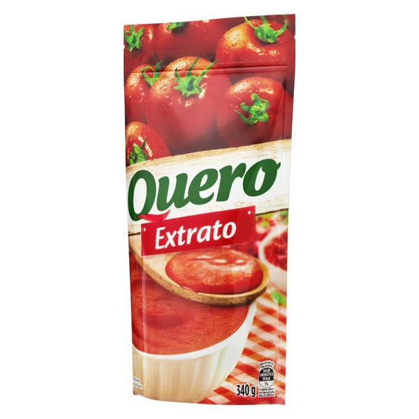 Extrato de Tomate Tradicional Quero Sachê 340g