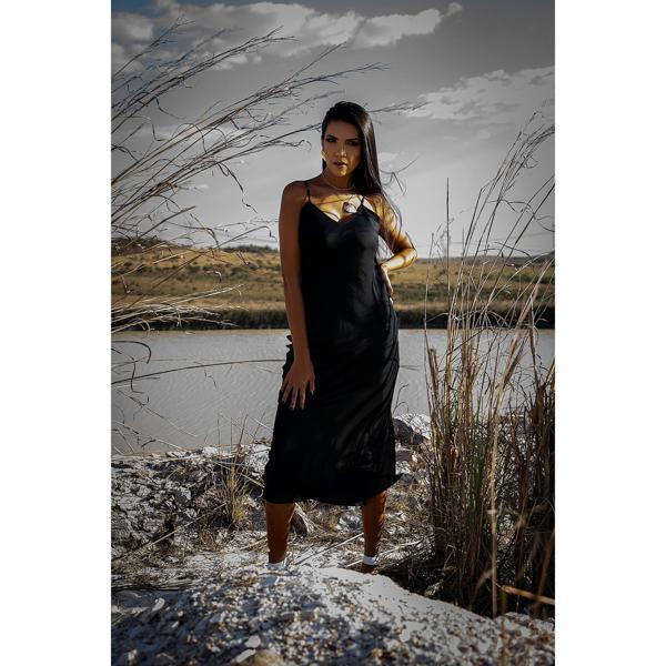 Vestido Lingerie Mary (preto)