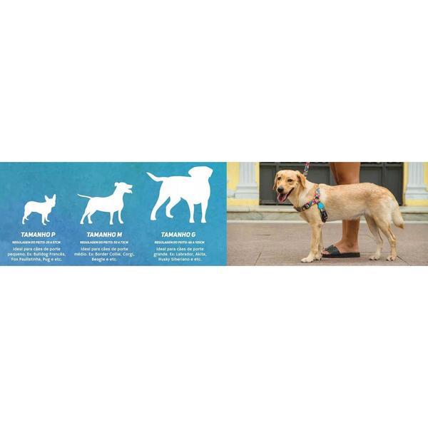 Conjunto Peitoral e Guia para Cachorros SKYLINE P