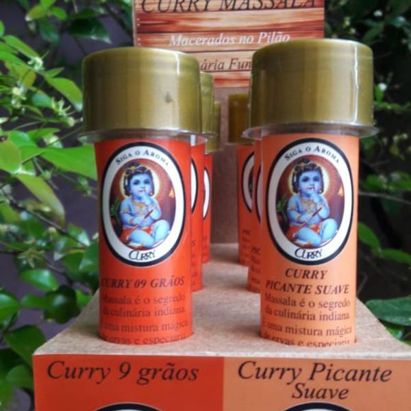 Curry Picante Suave - Siga o Aroma