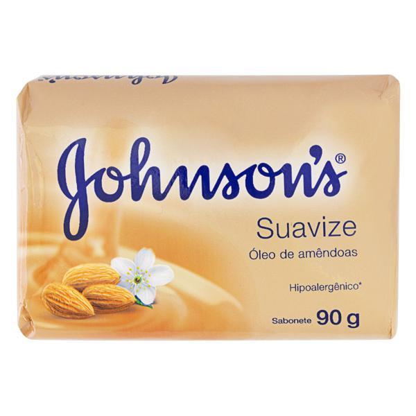 Sabonete em Barra Suavize Óleo de Amêndoas Johnson's Cartucho 90g