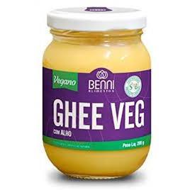 Manteiga Ghee Vegana com Alho 200g - Benni