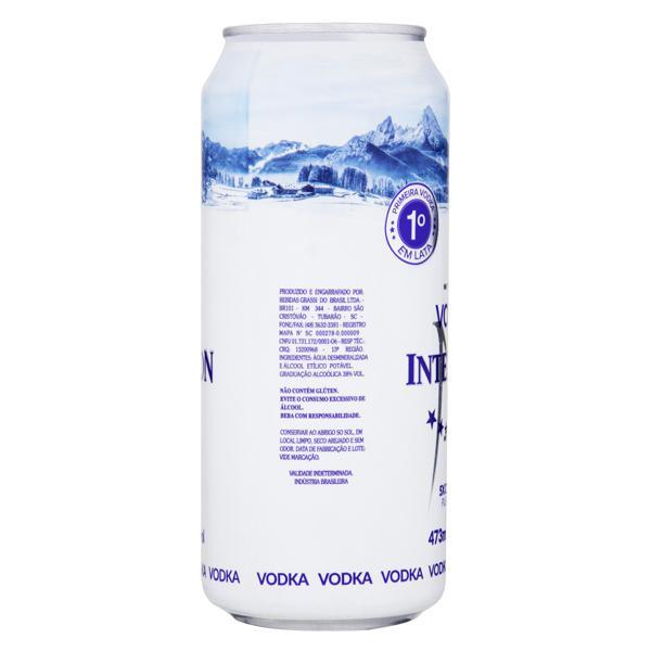 Vodka 5x Destilada Intencion Lata 473ml