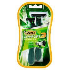 Aparelho de Barbear BIC Comfort 3 Sensivel 2 Unidades