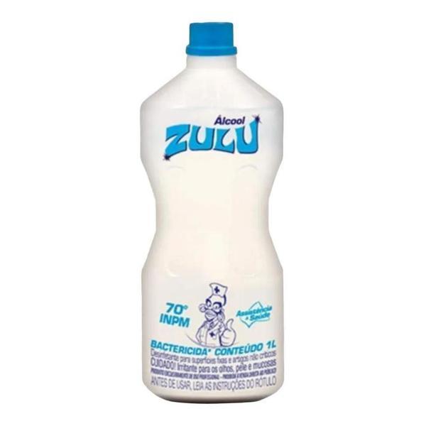 Alcool Liq 70° Zulu 1L