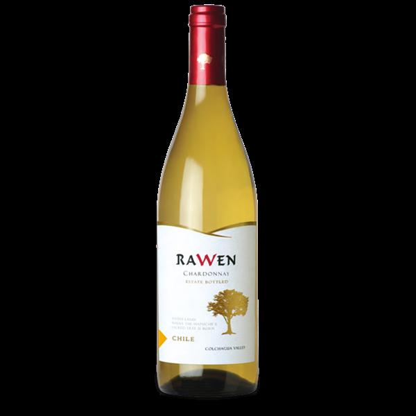 Vinho Branco Chileno  Rawen Chardonnay 750Ml