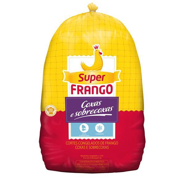 Coxa e Sobrecoxa Congelada SUPER FRANGO