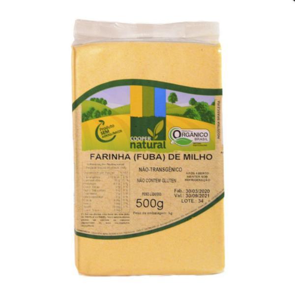 Farinha de Milho - Fubá Orgânico (500g)