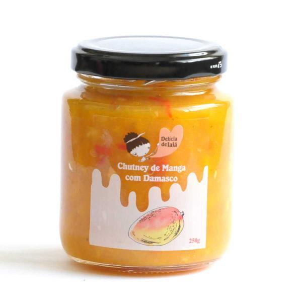 Mango Chutney 250g - Delícia de Iaiá