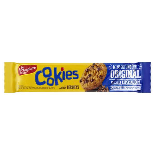 Biscoito Cookie Original Bauducco Pacote 100g