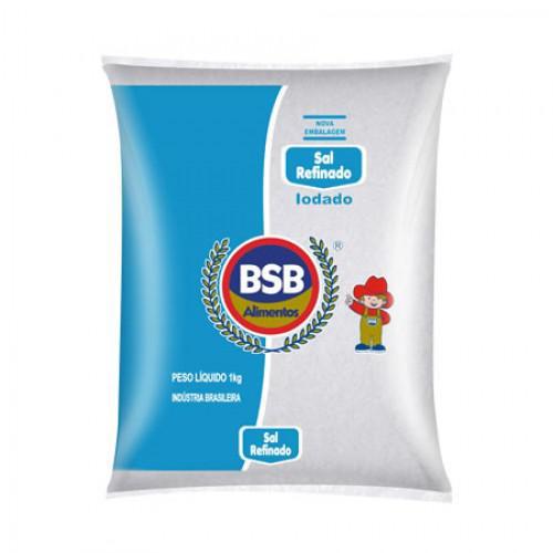 Sal Refinado BSB 1Kg