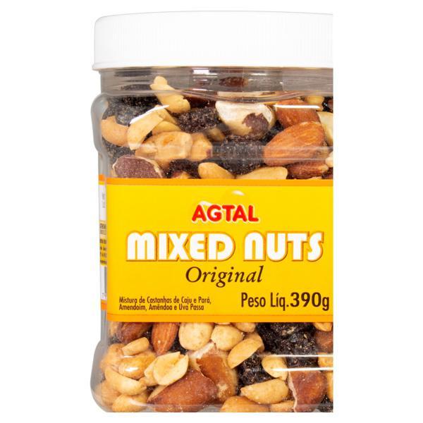 Mix de Castanha Original Agtal Mixed Nuts Pote 390g