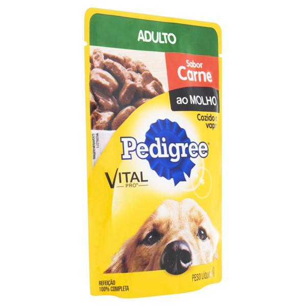 Alimento para Cães Adultos Carne ao Molho Pedigree Vital Pro Sachê 100g