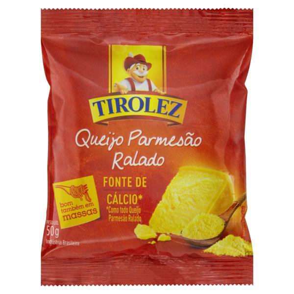 Queijo Parmesão Ralado Tirolez Pacote 50g