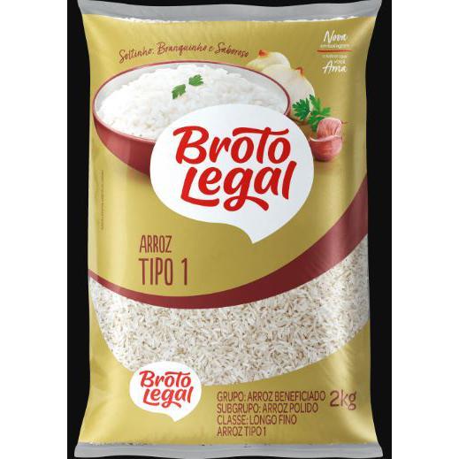 Arroz Broto Legal 2K