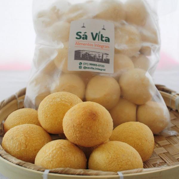 Pão de Q sabor Batata Doce (pão de queijo vegano) 500g - Sá Vita