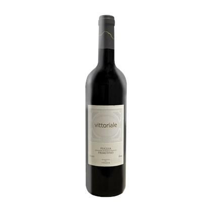 Vinho Italiano Vittoriale Primitivo di  Puglia 750ml