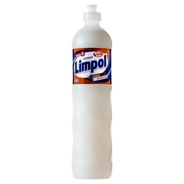 Detergente Líquido Limpol Coco 500ml