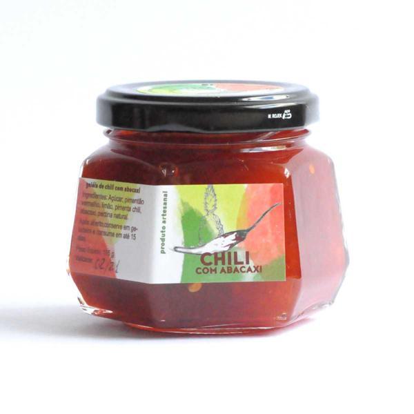 Geleia de Pimenta Chilli com Abacaxi 185g - Porteira Verde