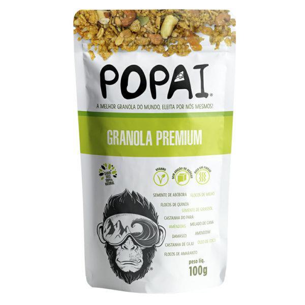 Granola Vegana Premium  100g - Popai