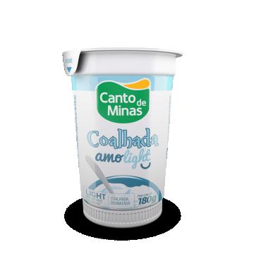 Coalhada Canto De Minas Amolight 180G