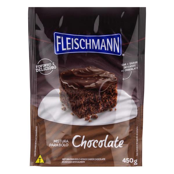 Mistura para Bolo Chocolate Fleischmann Sachê 450g