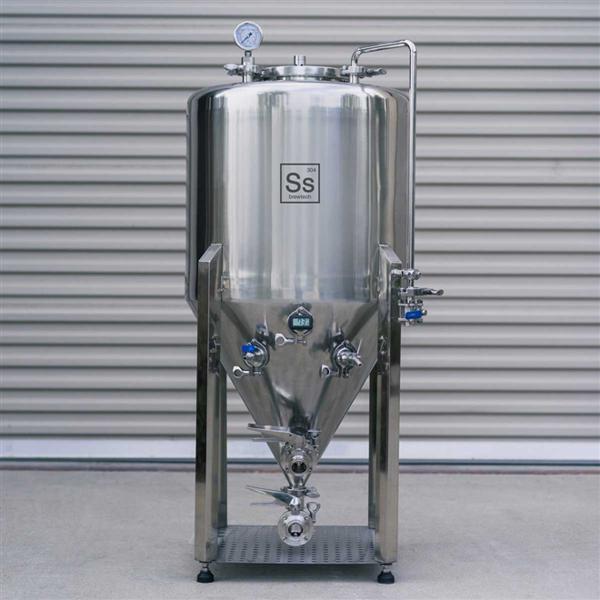 Tanque Fermentador Cônico em Aço Inox com Termômetro 7gal/26 L - Unitank Ss Brewtech