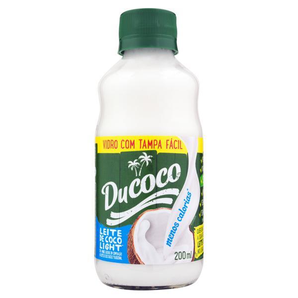 Leite de Coco Light Ducoco Vidro 200ml