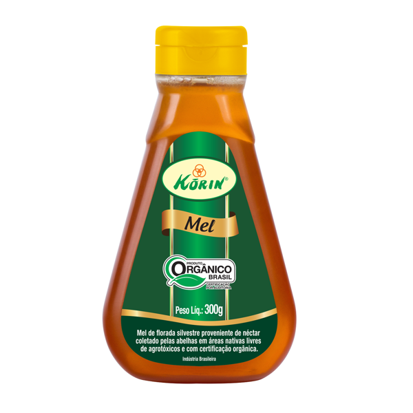 Mel Orgânico Bisnaga Korin 300g