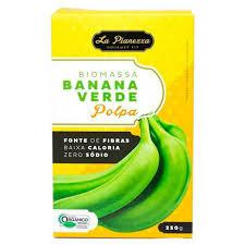 Biomassa Banana Verde Polpa La Pianezza 250g