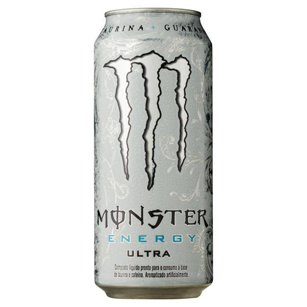Energético Monster Ultra Lata 473ml