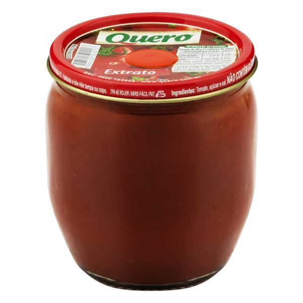 Extrato de Tomate Quero Vidro 190g
