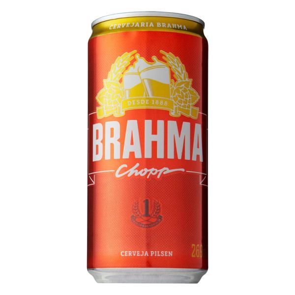 Cerveja Pilsen Brahma Chopp Lata 269ml