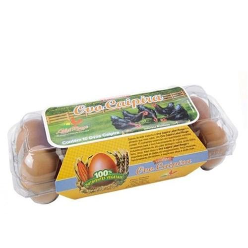 Ovos Caipiras CAIPIRINHA Com 10 Unidades