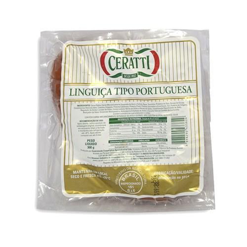 Linguiça Tipo Portuguesa CERATTI 300g
