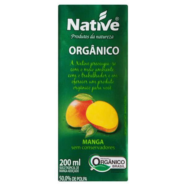 Suco Orgânico Manga Native Caixa 200ml