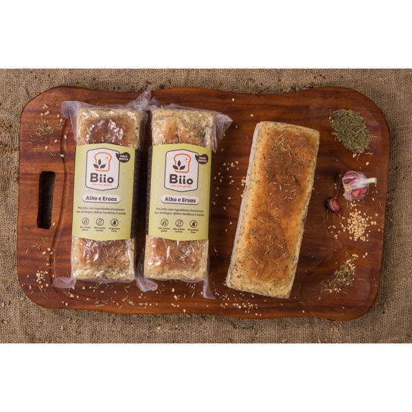 Pão Alho e Ervas sem glúten e sem lactose (400g)