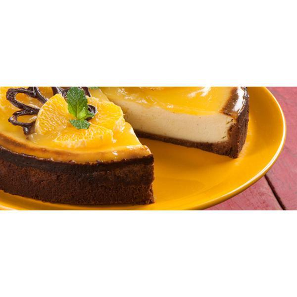 Cheesecake Laranja