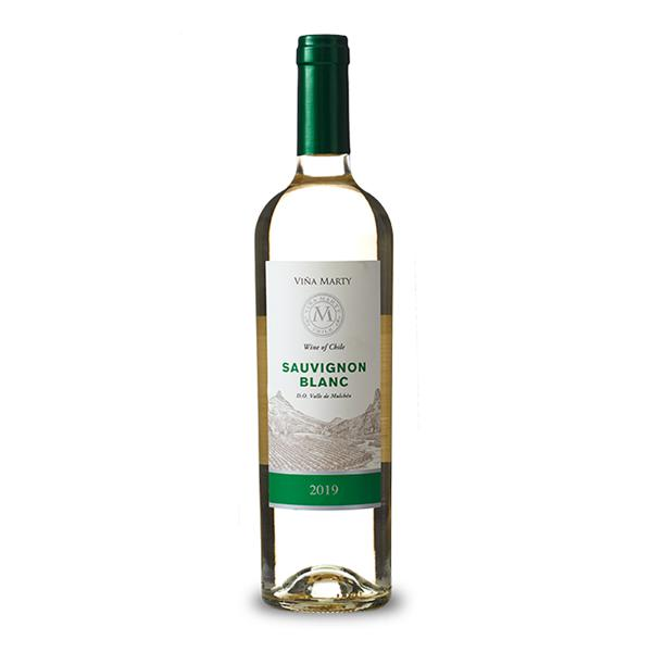 Vinho Chileno VIÑA MARTY Sauvignon Blanc Branco 750ml